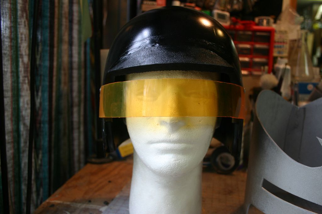 Painted Helmet Front