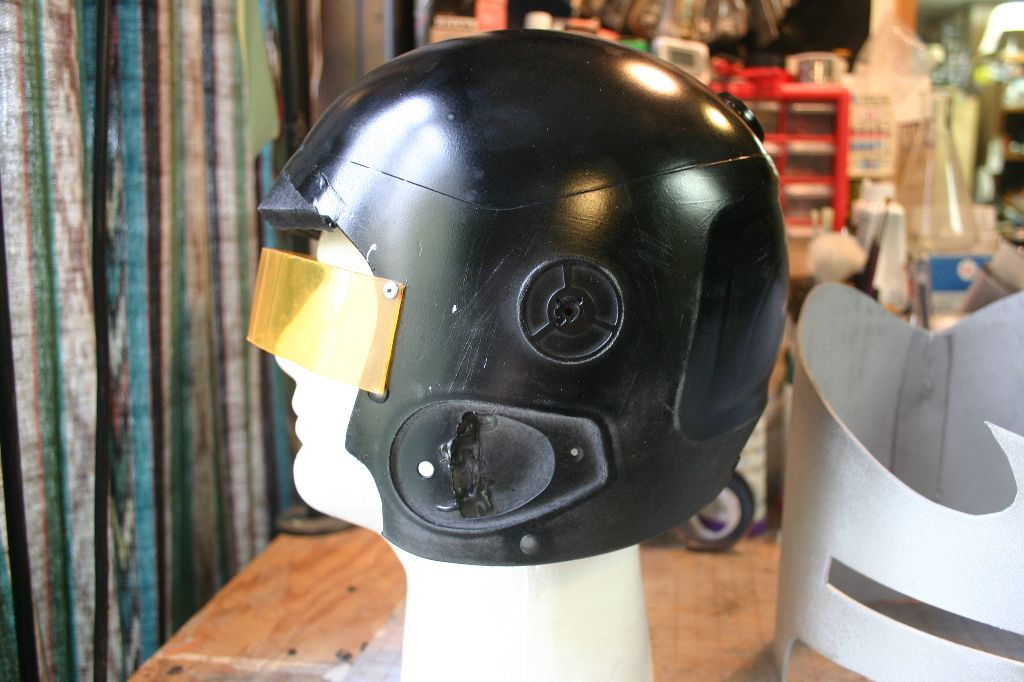 Painted Helmet Side