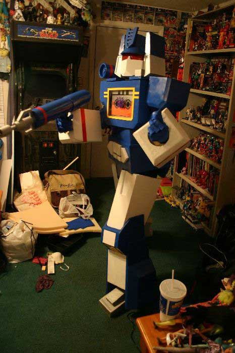 Soundwave Costume 3