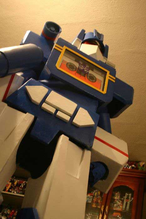 Soundwave Costume 6