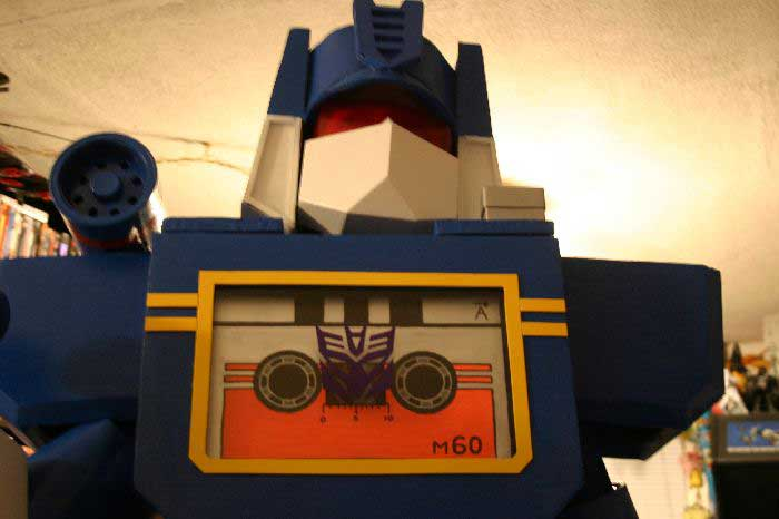 Soundwave Costume 22