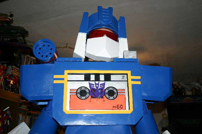 Soundwave Costume 23
