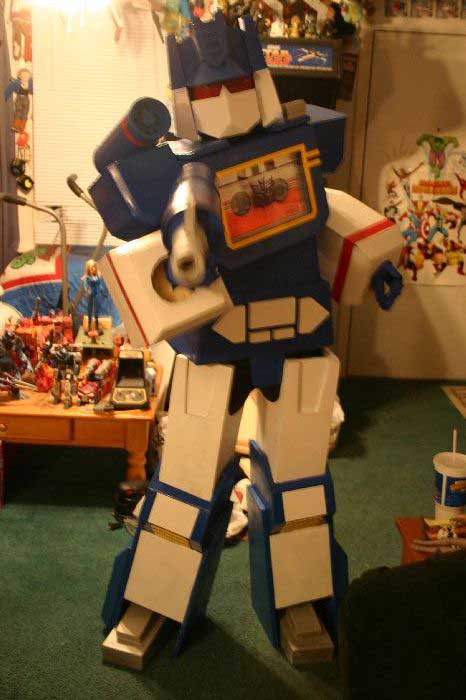 Soundwave Costume 2