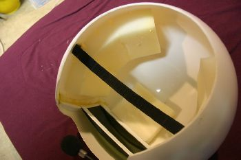 Finished Helmet Interior 2