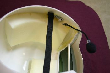Finished Helmet Interior 3