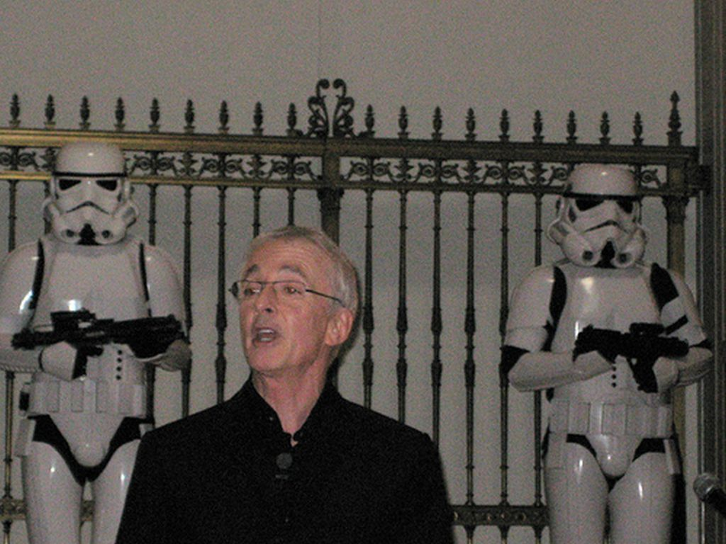 Stormtrooper with Anthony Daniels 3