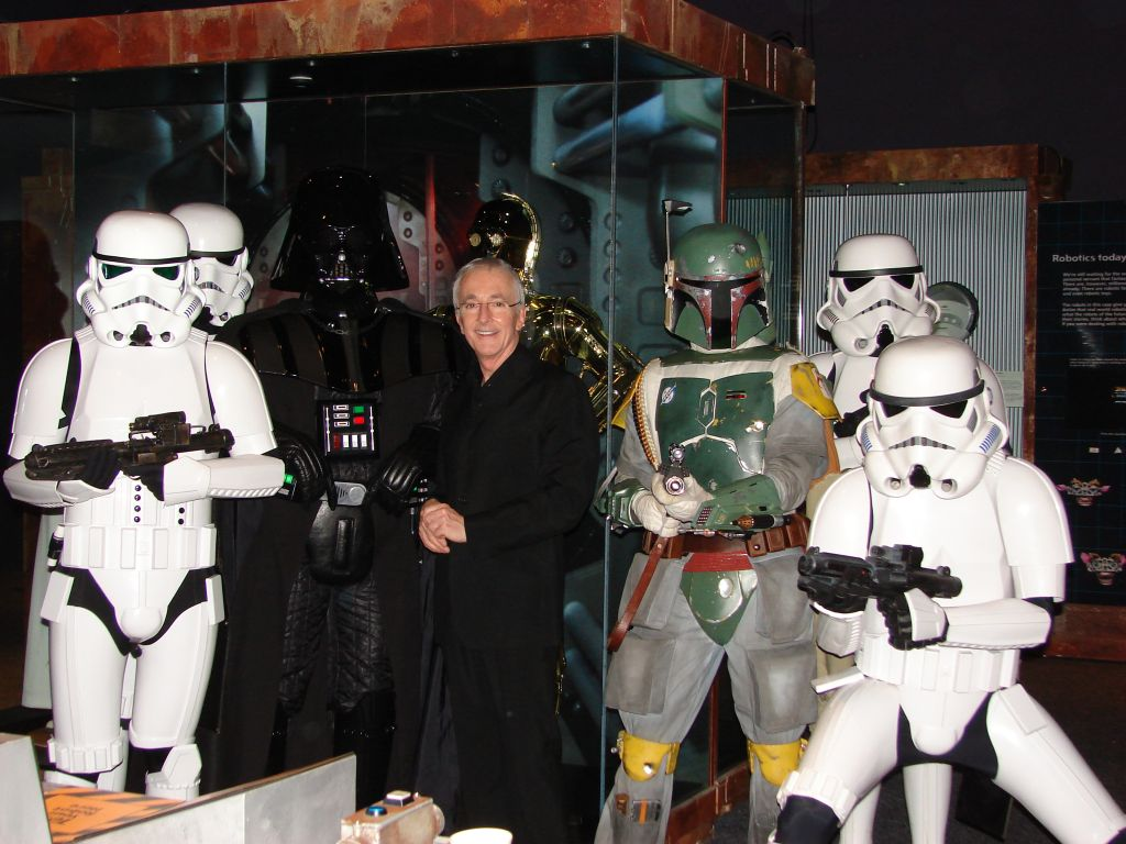 Stormtrooper with Anthony Daniels 6