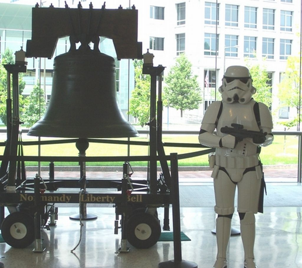 Stormtrooper at the National Constitution Center