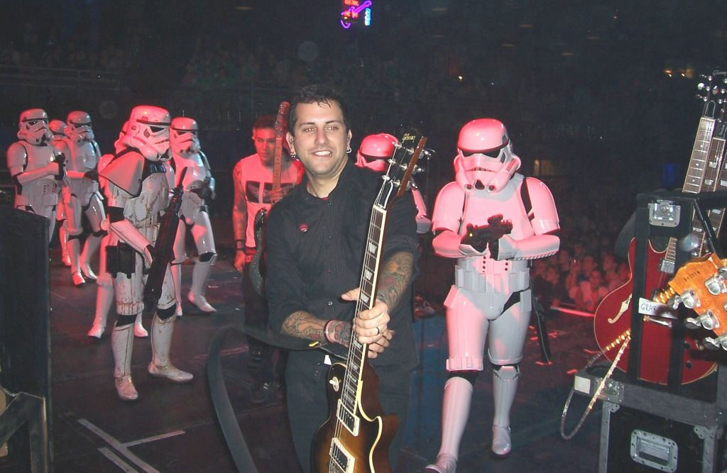 Stormtrooper on stage with MXPX 2