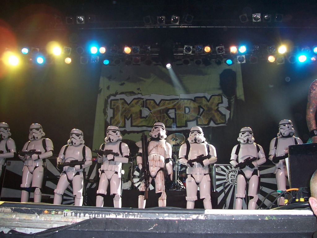 Stormtrooper on stage with MXPX 3