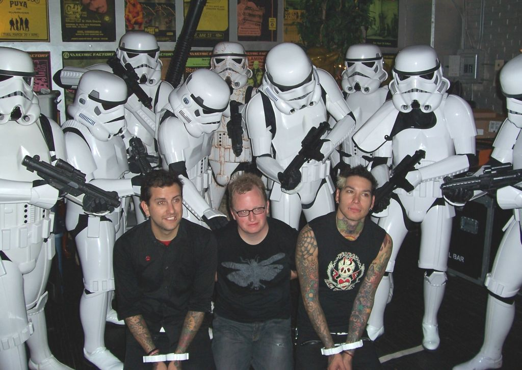 Stormtrooper on stage with MXPX 8