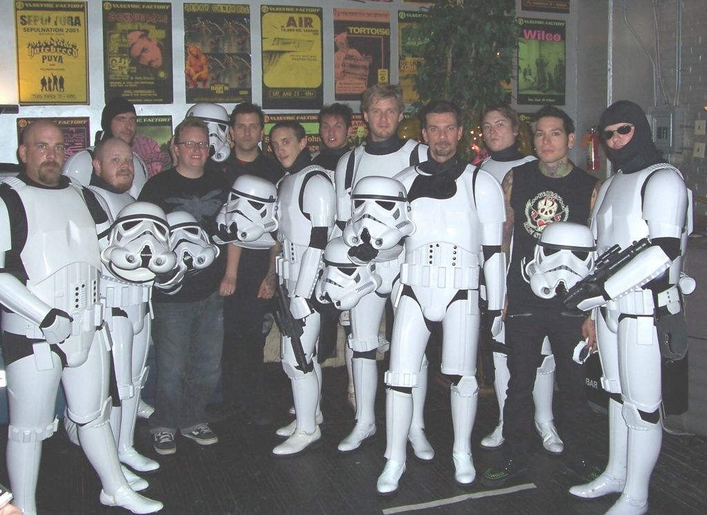 Stormtrooper on stage with MXPX 9