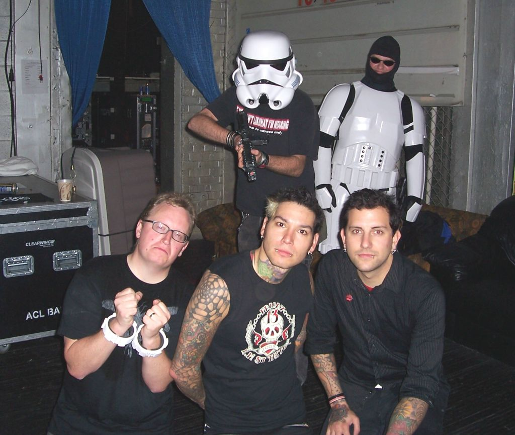 Stormtrooper on stage with MXPX 10