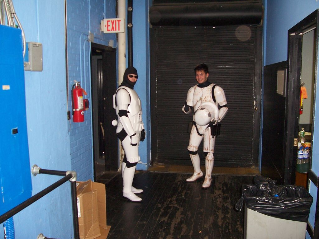 Stormtrooper on stage with MXPX 7