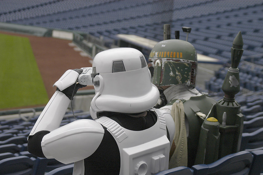 Stormtrooper at Phillies Stadium 2