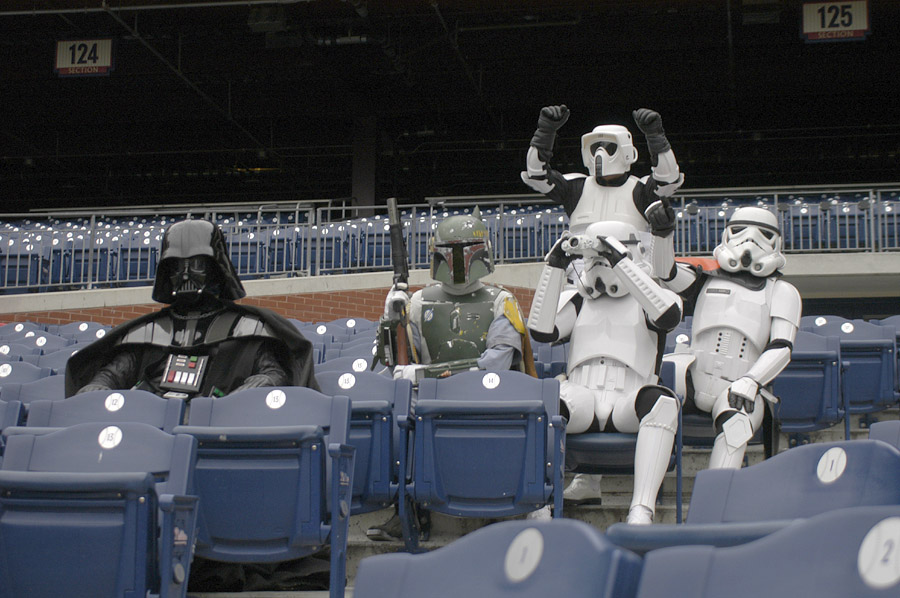 Stormtrooper at Phillies Stadium 1