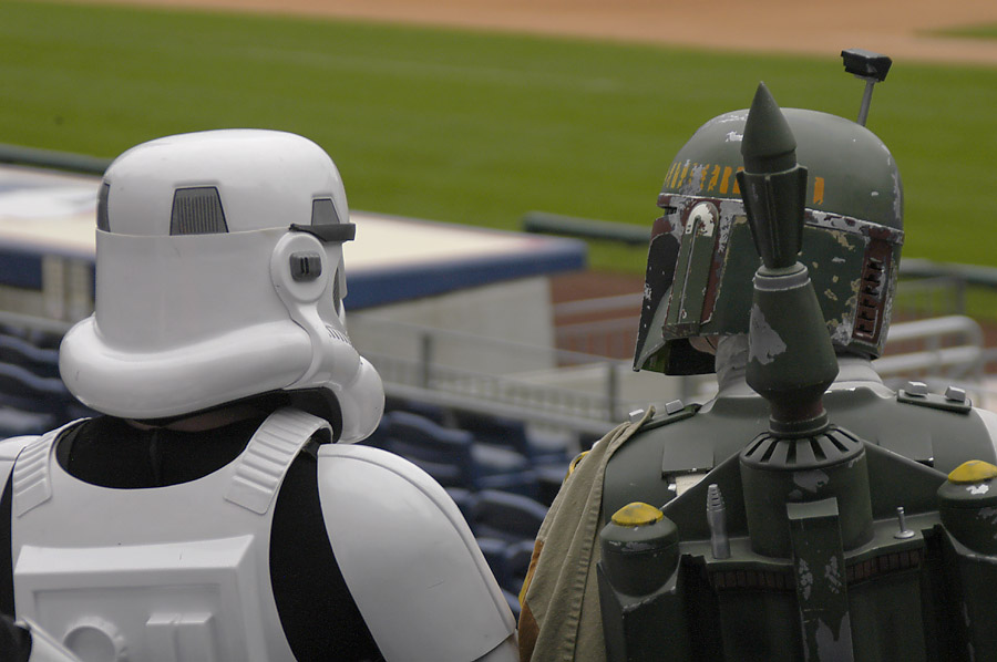 Stormtrooper at Phillies Stadium 3