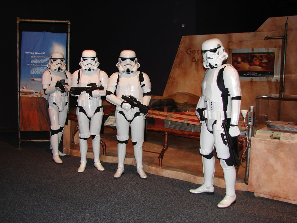Stormtrooper at the Franklin Institute 5