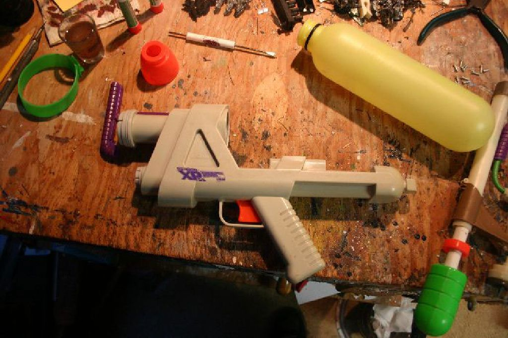 Disassembled Supersoaker