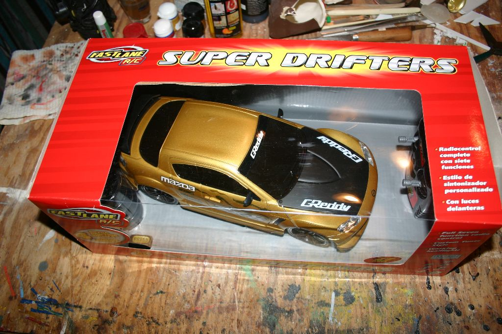 RC Car Box Top