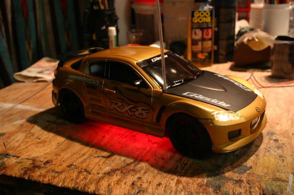 RC Car Lit