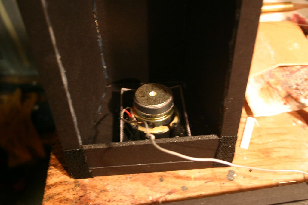 Rear Speaker Attached