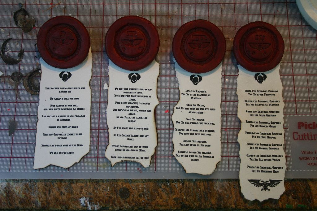 Finished Seals 5